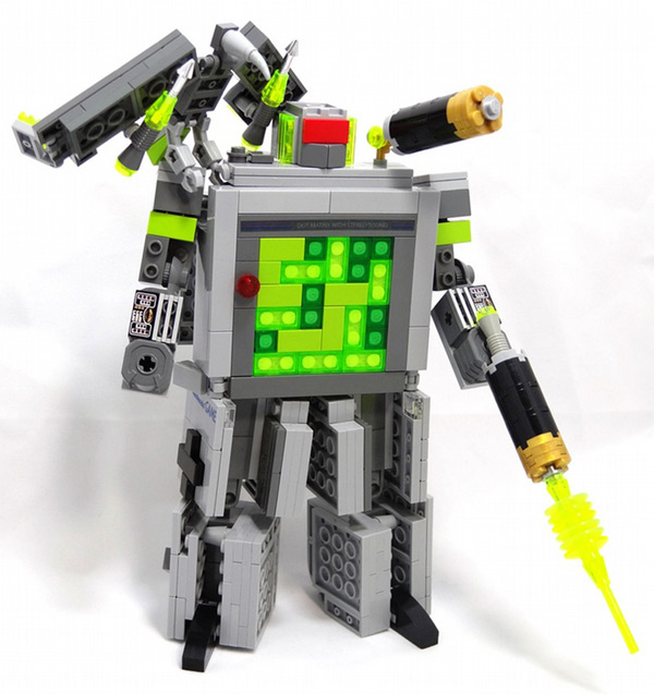 domaster lego brick game boy transformer
