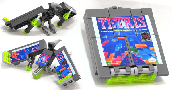 domaster lego brick game boy transformer