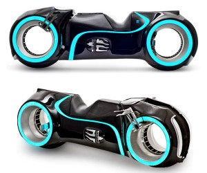 Evolve Motorcycles Xenon TRON Light Bike Hits Charity Auction
