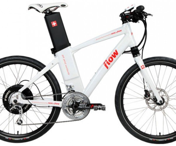 Fairly Bike's Flow E-Bike Stashes Battery in Its Seat Post