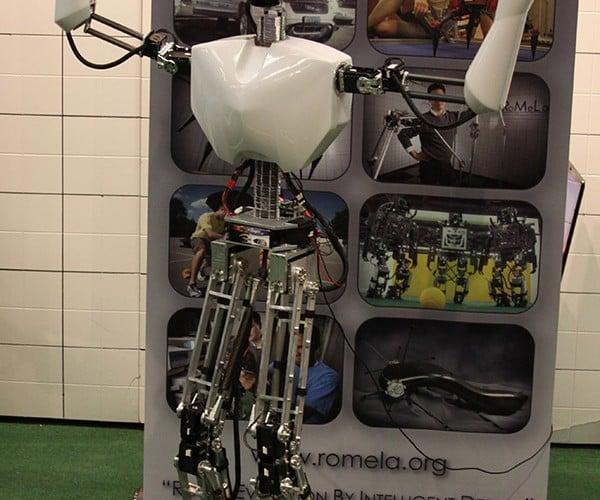 U.S. Navy Developing Fire Fighting Robot