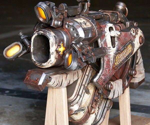 gears of war 3 digger launcher replica 6