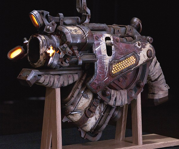 Gears of War 3 Digger Launcher Replica Will Blast Your Jaw to the Floor