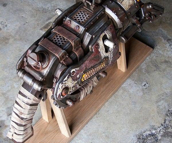gears of war 3 digger launcher replica 7