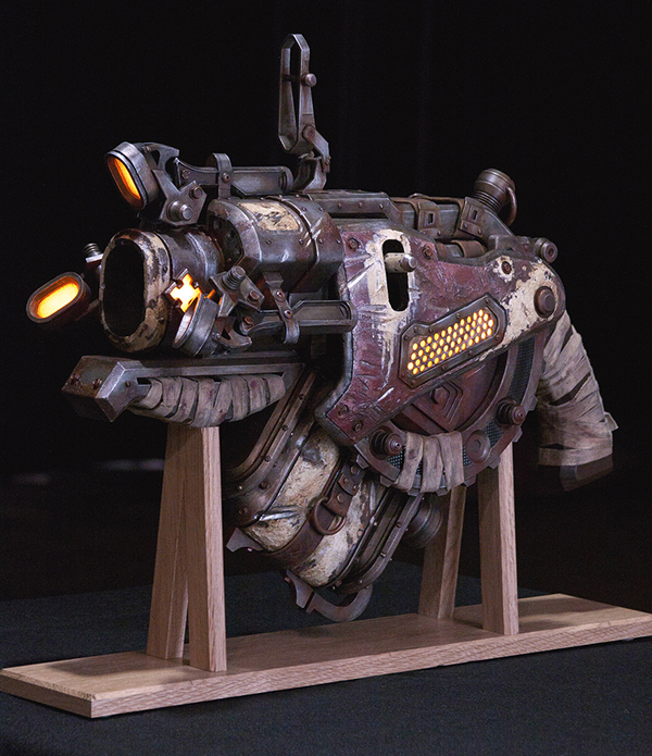 gears of war 3 digger launcher replica