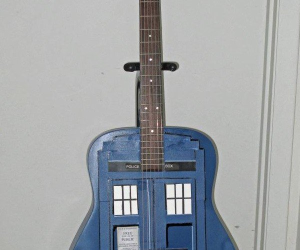 The GuiTARDIS: Long Live Timelord Rock