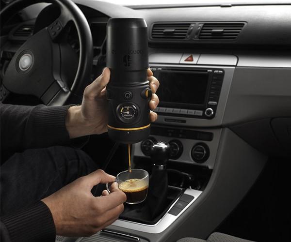Get Your Espresso Fix on the Go with the Handpresso Auto Machine