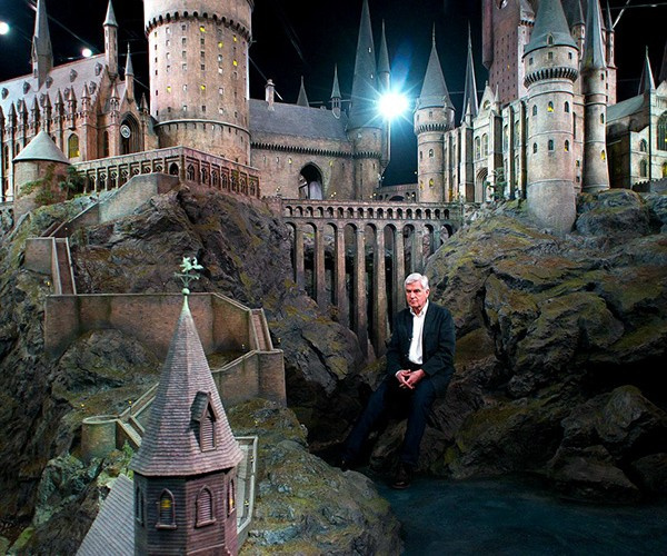 harry potter hogwarts castle scale model 4