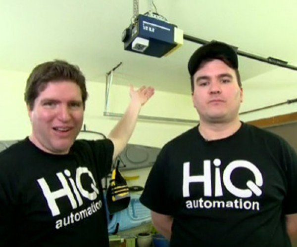 HiQ iOpener Opens Existing Garage Doors with Smartphones