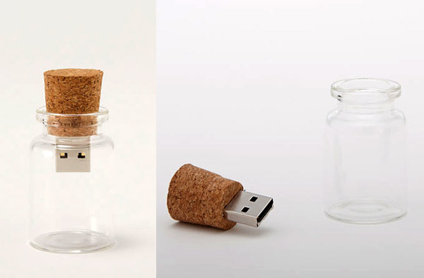 hum empty bottle usb drives