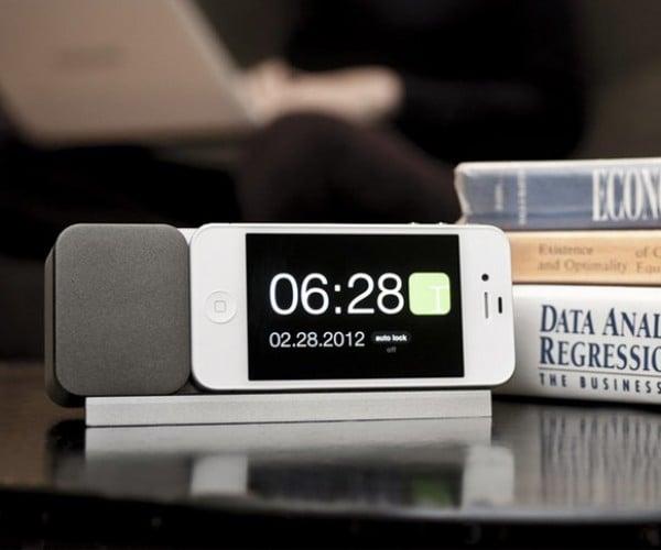 Ideal Timepiece iPhone Dock: Perfect Bedside Alarm Clock?