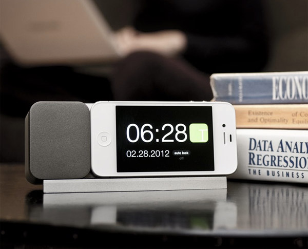 ideal timepiece iphone dock