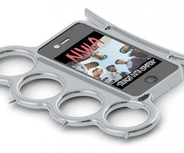 iKnucks Case Turns iPhones into Brass Knuckles
