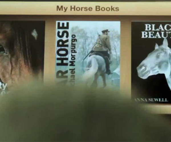 What's Next for Apple? iPad for Your Horse (of Course, of Course)