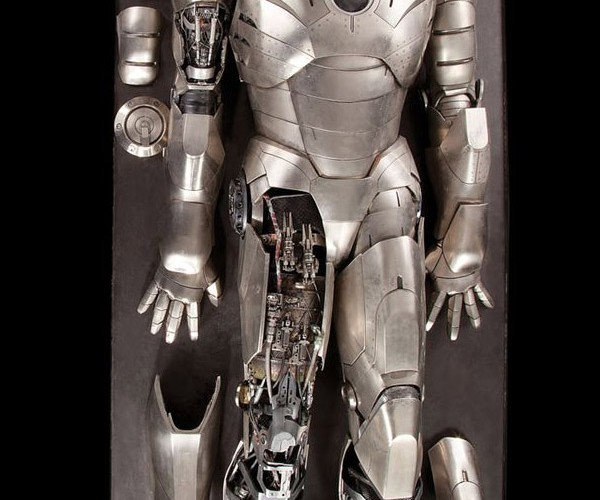 Iron Man Mk. II Autopsy Movie Suit Up for Auction