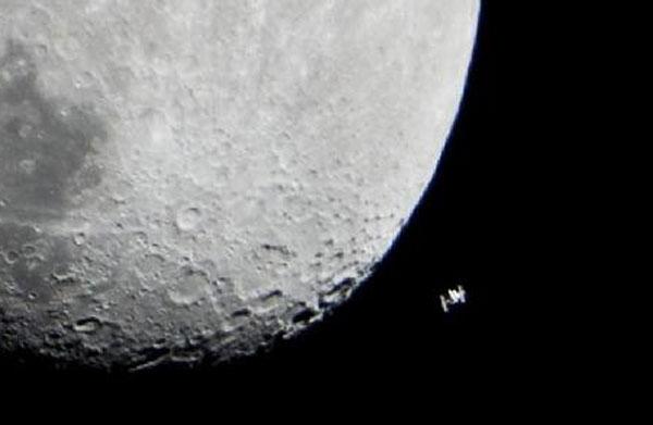 iss moon
