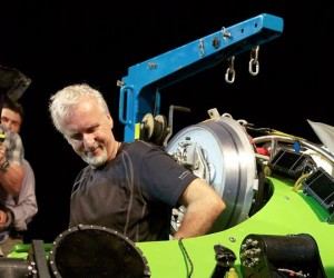James Cameron Completes Historic Mariana Trench Deep Sea Dive