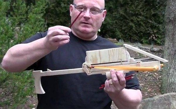 joerg sprave pump action pencil launcher