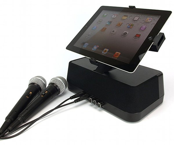 karaoke anywhere ipad 2 stand