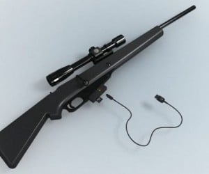 Harmless Hunter Camera Rifle Shoots But Doesn't Kill