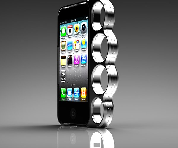 iPhone KnuckleCase Gets Real – Make a Fist!
