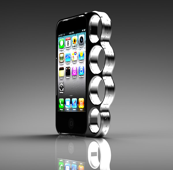 knucklecase iphone case