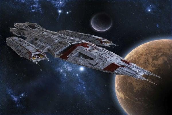 lego battlestar galactica 111 pounds cosmo