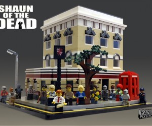 LEGO Shaun of the Dead Concept: Yes, There's a Tiny Rifle Included