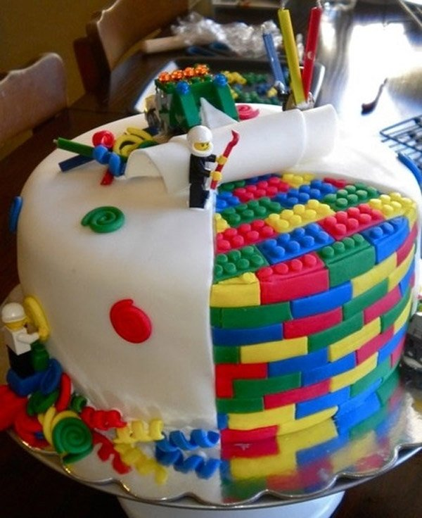 Superb Lego Cake Eat It Brick By Brick Funny Birthday Cards Online Barepcheapnameinfo