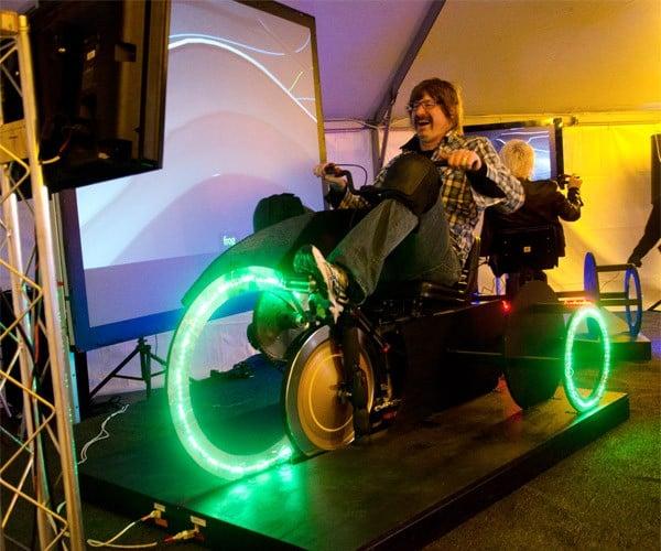 TRON Light Trikes Light up SXSW