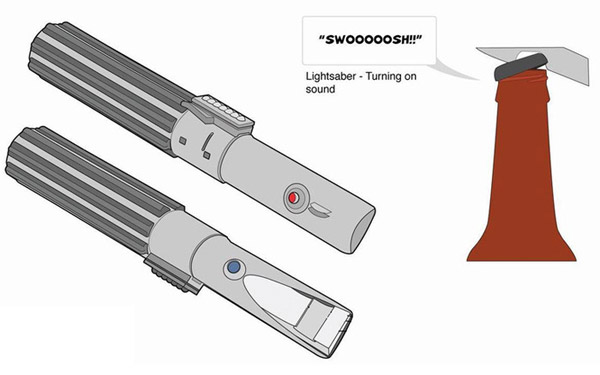 lightsaber bottle opener 2