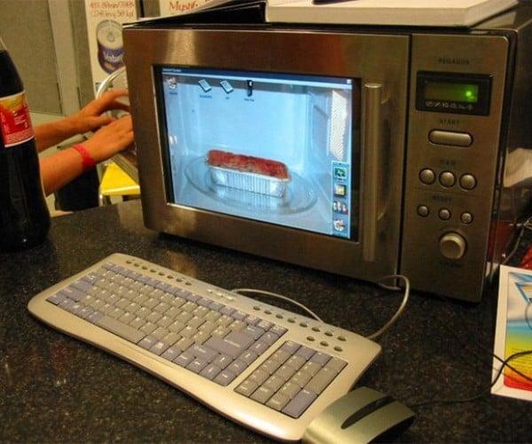 Microwave Casemod: Overclockin' Chips and Overcookin' Popcorn