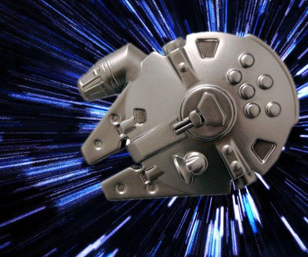 Millenium Falcon and Lightsaber Bottle Openers: Use a Little Force to Open a Beer