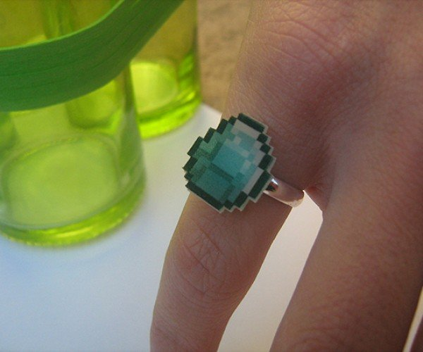 Minecraft Diamond Ring: The Fastest Way to a Gamer's Heart