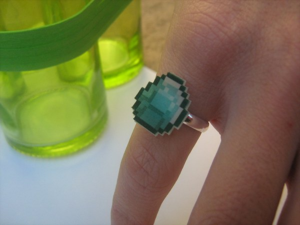 minecraft diamond ring
