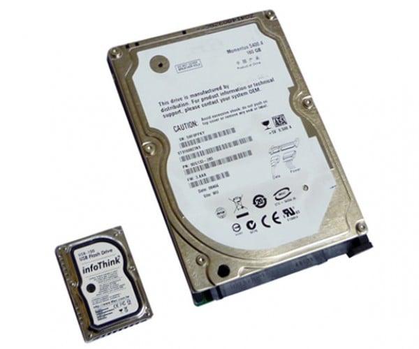mini hard disk flash drive 2