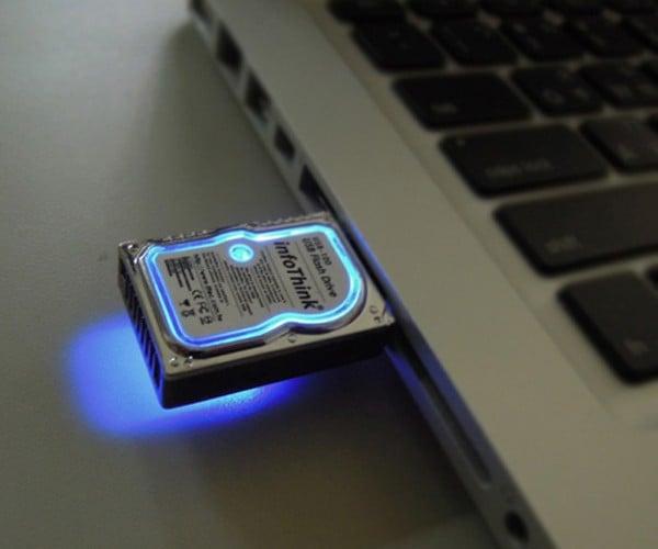 mini hard disk flash drive