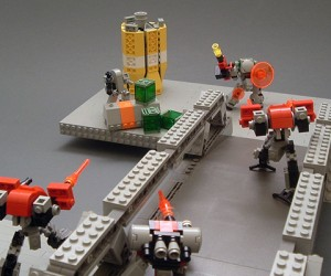 Mobile Frame Zero: Rapid Attack Miniature Wargame Uses LEGOs