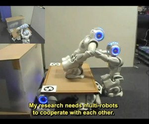 NAO Robots Programmed to Collaborate: Next Up, Forming a Giant Super NAO Robot