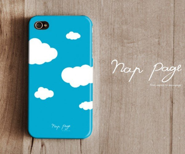 NapPage Phone Cases: Made out of Napkins