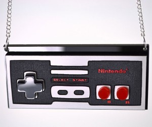 NES Controller Necklace Keeps Gaming Close to Your Heart