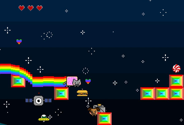 nyan cat adventures