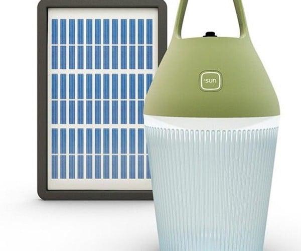 O'Sun Nomad Solar Lamp: A Jug Full of Light