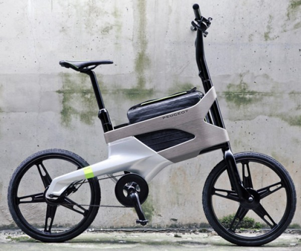 Peugeot DL 122: The Bike for the Computing Commuter
