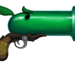 plants vs zombies guns by fellipe martins 300x250