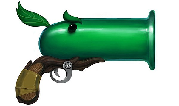 plants vs zombies guns by fellipe martins