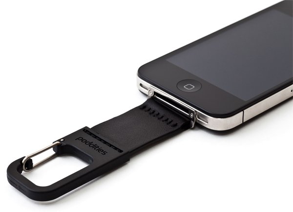 iphone poddities carabiner clip