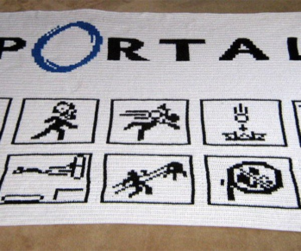 Portal Diagram Blanket: After Testing, There Will Be Resting
