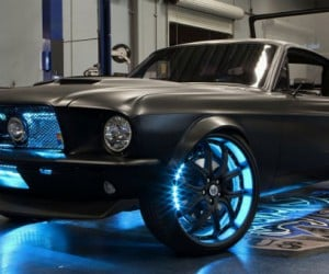 Microsoft Project Detroit Mustang: If TRON Drove a Pony Car