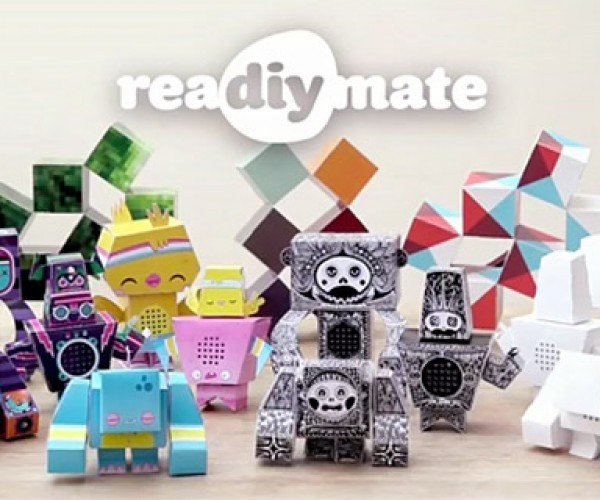 reaDIYmate: Remote-Controlled Robots Made from Paper
